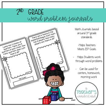 2nd Grade December Math Word Problems
