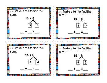 2nd Grade Differentiated Exit Tickets Aligned to GoMath Chapter 4