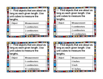 2nd Grade Differentiated Exit Tickets Aligned to GoMath Chapter 9