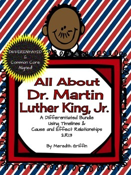 Differentiated Dr. Martin Luther King Activities 2nd Gr. C