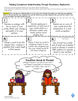 2nd Grade Differentiated Vocabulary Response Boards