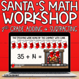 2nd Grade Digital Christmas Math Activities and Centers | Distance Learning