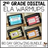 2nd Grade Digital ELA Warm Up   Spiral Review