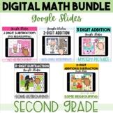 2nd Grade Digital Math GOOGLE CLASSROOM second grade math games