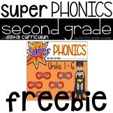 2nd Grade Phonics Digital Curriculum FREEBIE