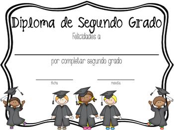 2nd Grade Diploma