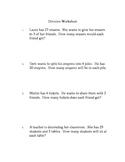 2nd Grade Division Worksheet