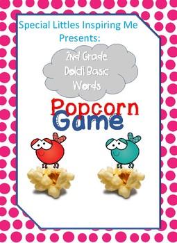 2nd Grade Dolch Popcorn Game
