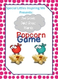 2nd Grade Dolch Popcorn Game