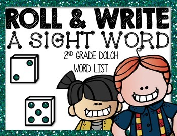 2nd Grade Dolch Roll and Write