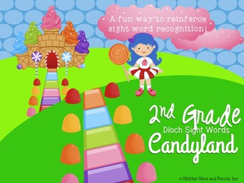 2nd Grade Dolch Sight Word Candyland
