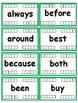 2nd Grade Dolch Sight Word Flash Cards with Data Tracking Options - RF.K.3 .