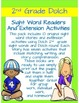 Pre-k - 2nd Sight Word Readers, Activities, Homework Using Dolch 2nd Grade Words