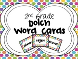 2nd Grade Dolch Word Cards