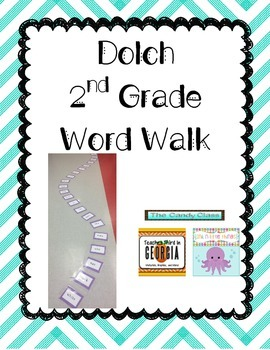 2nd Grade Dolch Word Walk