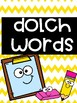 2nd Grade Dolch Word Wall Cards!