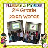 Dolch 2nd Grade Sight Words Fluency & Fitness® Brain Breaks