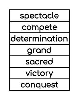 2nd Grade Domain 3 Vocabulary Builder