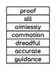 2nd Grade Domain  Vocabulary Builder