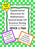 2nd Grade EIP Math Eligibility Testing Supplemental Materials - GA Intervention