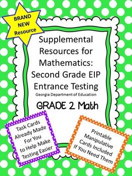 2nd Grade EIP Math Eligibility Testing Supplemental Materi