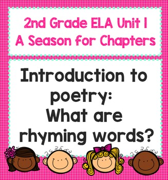 "2nd Grade ELA Smart Board ""A Season for Chapters"" Poetry Lesson - Introduction"