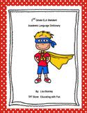 2nd Grade ELA Academic Language Dictionary