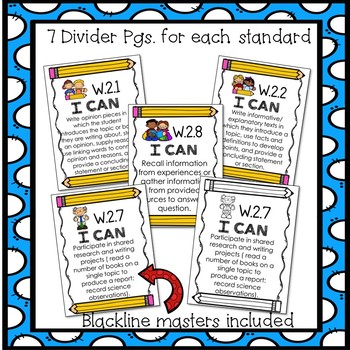 2nd Grade ELA Common Core Assessments Pack- Writing