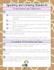 2nd Grade ELA Common Core Checklist - Wild Prints Edition