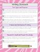 2nd Grade ELA Common Core Checklist - Zebra Edition