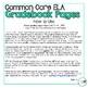 2nd Grade ELA Common Core Gradebook Pages **EDITABLE**