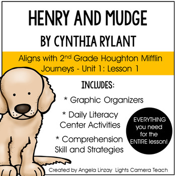 2nd Grade ELA Common Core Simplified:Aligned w/Houghton Mifflin Journeys-Unit 1