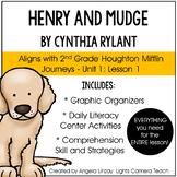 Henry and Mudge: Aligned w/Houghton Mifflin Journeys- 2nd Grade