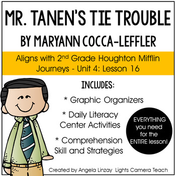 Mr. Tanen's Tie Trouble: Aligned with Houghton Mifflin Journeys - 2nd Grade
