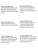 2nd Grade ELA Common Core Standards Labels