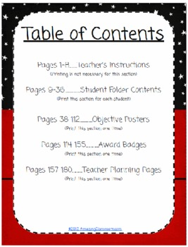 2nd Grade ELA Common Core State Standards Management System 180 Pages!
