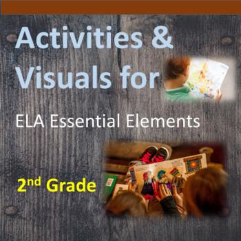 2nd Grade ELA Essential Elements for Cognitive Disabilities: Activities/Visuals