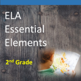 2nd Grade ELA Essential Elements for Cognitive Disabilities: Data Collection