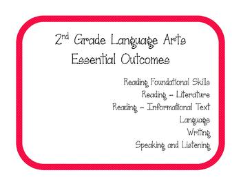 2nd Grade ELA Essential Outcomes (Common Core)