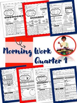 2nd Grade ELA Morning Work 1st Qtr
