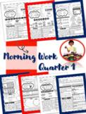 2nd Grade ELA Morning Work 1st Qtr | Reading Comprehension | Grammar