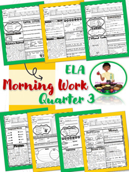 2nd Grade ELA Morning Work 3rd Qtr (January, February, March)