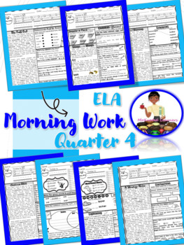 2nd Grade ELA Morning Work 4th Qtr (March, April, May, June)
