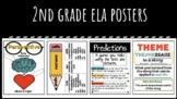 2nd Grade ELA Reading Anchor Chart (+ Interactive Notebook!) CCSS Standards