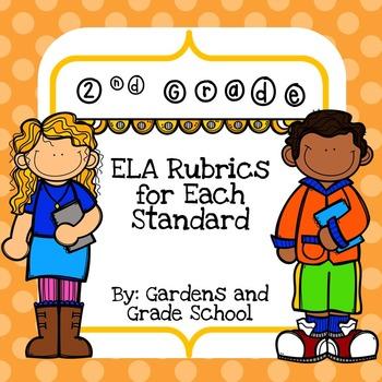 2nd Grade ELA Rubrics with Standards