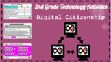 2nd Grade ELA Technology Activities - Google Slides (Digital Citizenship)
