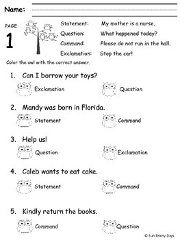 2nd Grade ELA Worksheets Year Long