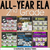 2nd Grade ELA Year-Long Bundle Curriculum-  ELA Common Core Standards