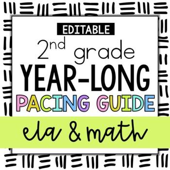 2nd Grade ELA and Math Pacing Guides