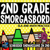 ELA and Math Activities commas, nouns, possessive s, place value, skip counting